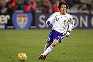 10 February 2006: Japan's Makoto Hasebe. The United States Men's National Team defeated Japan 3-2 at SBC Park in San Francisco, California in an International Friendly soccer match.
