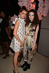 Bee Beardsworth, Daisy Maybe at the Warner Music Group and British GQ Summer Party in partnership with Quintessentially held at Nobu Shoreditch Willow Street, London England. 5 July 2017.<br /> Photo by Dominic O'Neill/SilverHub 0203 174 1069 sales@silverhubmedia.com
