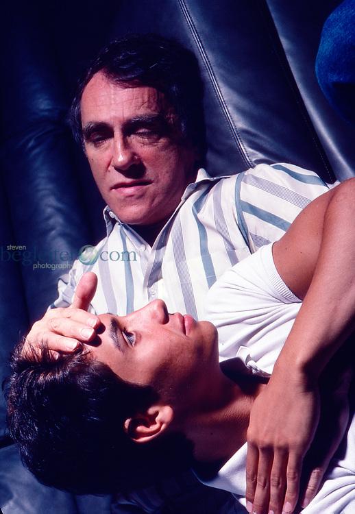 Joe Papp and his son Tony Papp, 1987