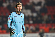 Bristol Rovers goalkeeper Jack Bonham (13) during the EFL Sky Bet League 1 match between Charlton Athletic and Bristol Rovers at The Valley, London, England on 24 November 2018.