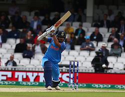 June 8, 2017 - London, United Kingdom - Shikhar Dhawan of India.during the ICC Champions Trophy match Group B between India and Sri Lanka at The Oval in London on June 08, 2017  (Credit Image: © Kieran Galvin/NurPhoto via ZUMA Press)