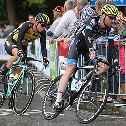 25-06-2017: Wielrennen: NK weg elite: Montferland<br />s-Heerenberg (NED) wielrennen<br />NK Wielrennen Elite  <br />Jasper Hamelink, BertJan Lindeman