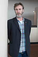 """British actor Joe McGann, pictured during a break in rehearsals at the Playhouse Theatre, Liverpool. His most well known role was playing the lead role -- Charlie Burrows, the """"house keeper"""" in the TV comedy series The Upper Hand (1990-1996). His three younger brothers -- Paul, Stephen, Mark -- are also actors."""