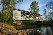 USA, Oregon, Scio, Larwood Wayside, Larwood Bridge.