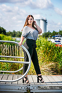 Curvy model Sharon Grobben