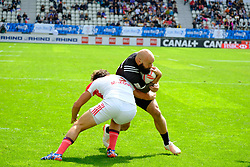 May 14, 2017 - Paris, France - DJ FORBES of New Zealand team during the match against France of HSBC World Rugby Sevens Series at Jean Bouin stadium of Paris France.New Zealand beat France 14-0 (Credit Image: © Pierre Stevenin via ZUMA Wire)