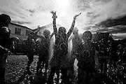 Sao Joao Del Rei_MG, 13 de Fevereiro de 2010 ..Carnaval nas cidades historicas de Minas Gerais..Na foto, o bloco da cambalhota circulando pela regiao historica da cidade..Foto: Leo Drumond / NITRO