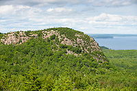 Section of Beehive Mountain Acadia National Park, Mount Desret Island, Maine
