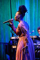 """Sisanda """"Sunda"""" Mytezi, VuDu. Cape Town International Jazz Festival 2017. Photo by Alec Smith/imagemundi.com"""