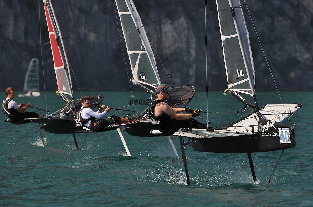 2012 Zhik Nautica Moth Worlds Campione del Garda Italy