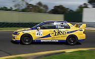 David Wall .Mitsubishi Lancer IX GSR.Motorsport/2008 Shannons Nationals.Australian Manufacturers Championship .Sandown International Raceway, Melbourne, Victoria.29th November 2008.(C) Joel Strickland Photographics.