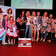 NLD/Amsterdam/20110413 - Mama of the Year award 2011, groepsfoto