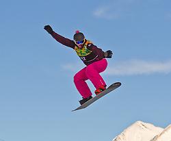 07.12.2010,AUT, Schlegelkopf, Lech am Arlberg, LG Snowboard, FIS Worldcup SBX, im Bild Lundholdt Julie, DEN, #22, EXPA Pictures © 2010, PhotoCredit: EXPA/ P. Rinderer