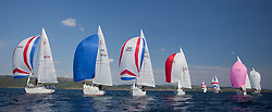Sailing - SCOTLAND  - 25th-28th May 2018<br /> <br /> The Scottish Series 2018, organised by the  Clyde Cruising Club, <br /> <br /> First days racing on Loch Fyne.<br /> <br /> Sigma 33 Fleet <br /> <br /> Credit : Marc Turner<br /> <br /> <br /> Event is supported by Helly Hansen, Luddon, Silvers Marine, Tunnocks, Hempel and Argyll & Bute Council along with Bowmore, The Botanist and The Botanist