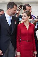 042315 Spanish Royals Attend Cervantes Awards Ceremony 2015