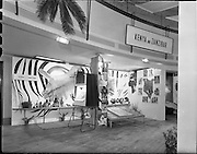 23/ 06/1961.06/23/1961.23 June 1961.Kenya and Zanzibar stand at Missionary exhibition at Mansion House. Sponsored by Esso Ltd