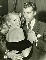 1951 Lana Turner dances with Fernando Lamas at Ciro's Nightclub