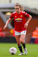 Manchester United midfielder Ella Toone (7) during the FA Women's Super League match between Manchester United Women and Reading LFC at Leigh Sports Village, Leigh, United Kingdom on 7 February 2021.