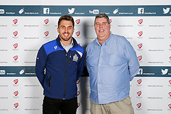 Jack Wallace of Bristol Rugby poses during the Player Sponsors' Dinner in the Heineken Lounge at Ashton Gate - Mandatory byline: Rogan Thomson/JMP - 08/02/2016 - RUGBY UNION - Ashton Gate Stadium - Bristol, England - Bristol Rugby Player Sponsors' Dinner.