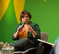 DEU, Deutschland, Germany, Berlin, 23.11.2018: Meyrem Almaci, President of Groen (Belgium). Council of the European Green Party (EGP council) at Deutsche Telekom Representative Office.