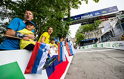 Finish at Celje's castle during 2nd Stage of 27th Tour of Slovenia 2021 cycling race between Zalec and Celje (147 km), on June 10, 2021 in Slovenia. Photo by Vid Ponikvar / Sportida