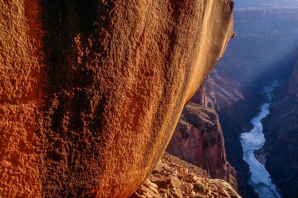 Colorado River, morning light, spring, Toroweap Point, Grand Canyon, Arizona, USA