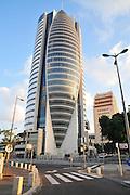 Israel, Haifa, Downtown, The Sail Tower high-rise building