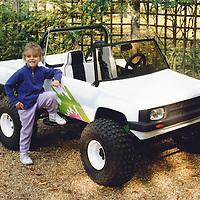 'Little Foot' Pick-up for children, Bullitt Miniature Cars
