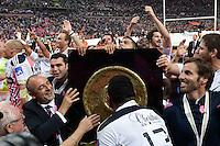 Thomas SAVARE / Gonzalo QUESADA  - 13.06.2015 - Clermont / Stade Francais - Finale Top 14<br />Photo : Nolwenn Le Gouic / Icon Sport
