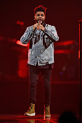 MIAMI, FL - OCTOBER 24: The Weeknd performs at the AmericanAirlines Arena on October 24, 2017 in Miami Florida. 24 Oct 2017 Pictured: The Weeknd. Photo credit: MPI04/Capital Pictures / MEGA TheMegaAgency.com +1 888 505 6342