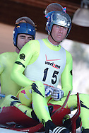 luge riders Chris Thorpe and Patrick Quinn