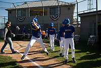 Laconia Little League parade and opening day ceremony at Colby Field.  Karen Bobotas/ for the Laconia Daily Sun