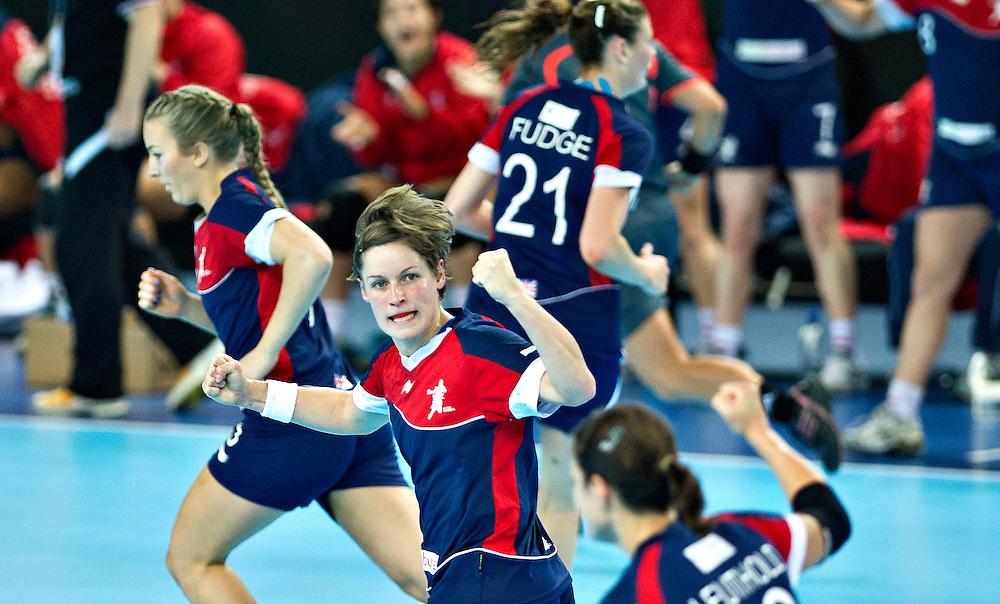 London Handball Cup - Great Bitain vs Angola -   Lyn Byl (GB)