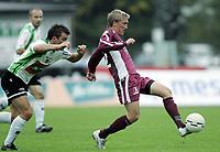 Fotball<br /> Adeccoligaen<br /> Hønefoss v Sogndal 4-0<br /> 24.09.2006<br /> Foto: Morten Olsen, Digitalsport<br /> <br /> Per Egil Flo - Sogndal