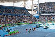 Mens 200m heats, with Usain Bolt competing for Jamaica, Engenho stadium, where the Athletics are held at Rio 2016, Rio de Janeiro, Brazil.