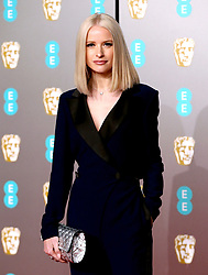 Victoria Magrath attending the 72nd British Academy Film Awards held at the Royal Albert Hall, Kensington Gore, Kensington, London.