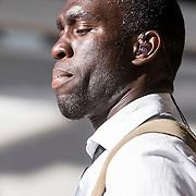 NLD/Amsterdam/20130818 - Optredenn Berget Lewis in het Vondelpark Amsterdam, Alvin Lewis