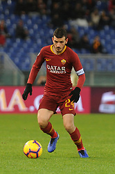 December 26, 2018 - Rome, Italy - Alessandro Florenzi of AS Roma in action during the Serie A match between AS Roma and US Sassuolo at Stadio Olimpico on December 26, 2018 in Rome, Italy. (Credit Image: © Federica Roselli/NurPhoto via ZUMA Press)