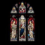 Window 1 on plan.<br /> Saint Saviour's Episcopal Church, Bar Harbor, Maine.