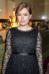 TANYA BURR at the WGSN Global Fashion Awards 2015 held at The Park Lane Hotel, Piccadilly, London on 14th May 2015.