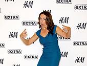 Jenni Pulos Visits 'Extra'