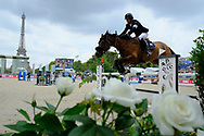 Harrie Smolders riding Zinius during the Longines Paris Eiffel Jumping 2018, on July 5th to 7th, 2018 at the Champ de Mars in Paris, France - Photo Christophe Bricot / ProSportsImages / DPPI