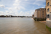 View of the Thames River from Metropolitan Wharf in the East London neighborhood of Wapping, CREDIT: Vanessa Berberian for The Wall Street Journal. WAPPING