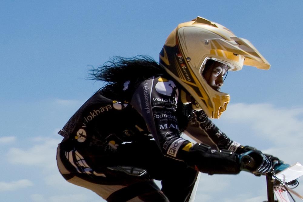Velokhaya Reconciliation Day BMX Event BMX Racing at Velokhaya BMX track in Khayalitsha township, Cape Town.