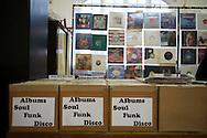 The Last Black Music Record Fair, Kilburn, London, UK. January 2009