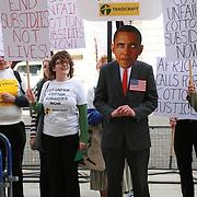 Traidcraft/Ecotube: Lobbying President Obama 24/5/11.