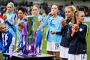 The WSL trophy before the FA Women's Super League match between Arsenal Women FC and Manchester City Women at Meadow Park, Borehamwood, United Kingdom on 12 May 2019.