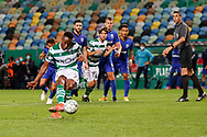 GOAL 2-2 by Jovane Cabral for the penalty kick during the Liga NOS match between Sporting Lisbon and Belenenses SAD at Estadio Jose Alvalade, Lisbon, Portugal on 21 April 2021.
