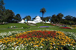 California: San Francisco. Conservatory of Flowers in Golden Gate Park.  Photo copyright Lee Foster. Photo #: 23-casanf83924
