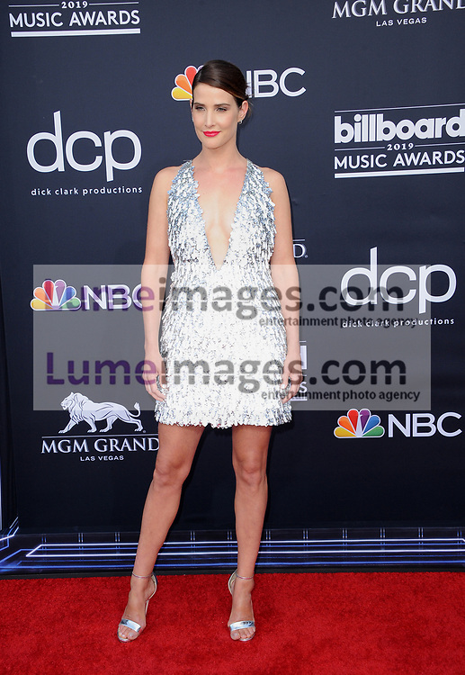 Cobie Smulders at the 2019 Billboard Music Awards held at the MGM Grand Garden Arena in Las Vegas, USA on May 1, 2019.